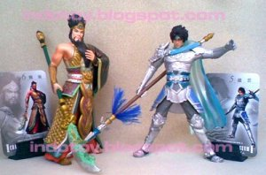Dynasty Warrior Action Figure - Rp. 400.000