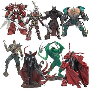 "SPAWN 3"" Trading-Figures series: 2 - Rp. 675.000"