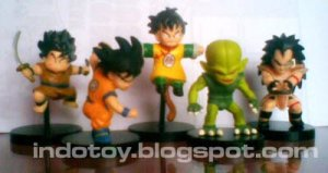 Jual Mini Dragon Ball Figure - Rp. 75.000