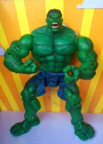 Jual Hulk Movie 2003 Full Articulation A- Rp. 50.000