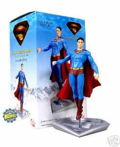 Superman Return Flying Style Statue