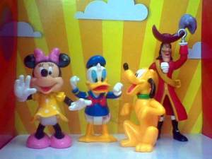 Jual Mickey and Friends figure