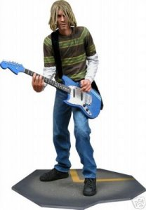 Jual Nirvana - Kurt Cobain Music Action Figure