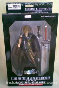 uJual Cloud Stife Final Fantasy VII - Play Art Advent Children Action Figure