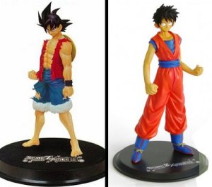 Jual One Piece x Dragon Ball DX Figure