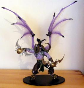llidan Stormrage Deluxe Figure WoW Series 1