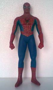Jual Spiderman & Black Spiderman Vinyl Action Figure