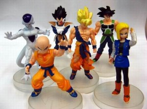 Jual Action Figure Dragon Ball isi 6