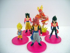 Jual Dragon Ball Action Figure Plat Merah