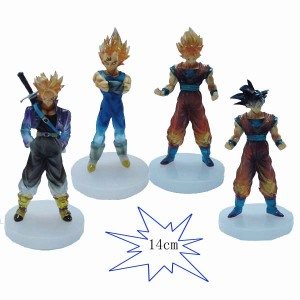 Jual Action Figure Dragon Ball Z seri 1 Transparant