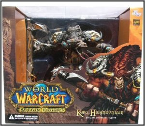 Jual World of Warcraft 3 Deluxe Boxset : Tauren Hunter Korg High Mountain