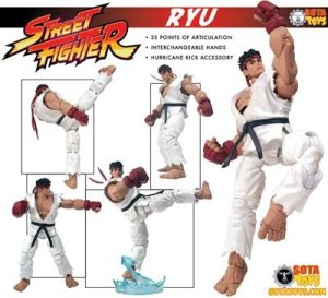 Jual Street Fighter Preview Sota action Figure : Ryu