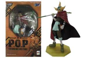 Jual P.O.P Ushop Sogeking dan POP Nico Robin Action Figure
