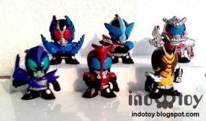 Jual Kamen Rider mini figure
