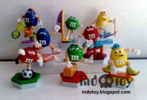 Jual M&M Figure
