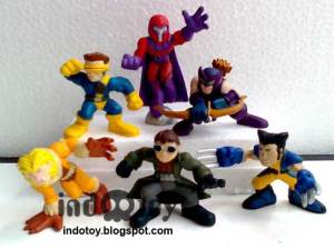 Jual Mini Marvel Chibi Figure