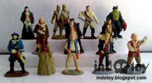 Jual Mini Pirate of Caribean Figure