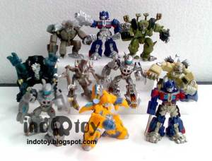 Jual Transformer Movie Trading Figure