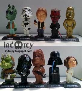 Jual Starwars Booble Head