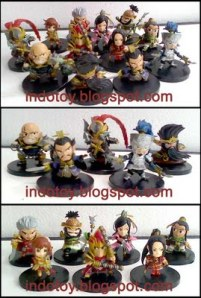 Jual Dinasty Warrior Chibi Figure