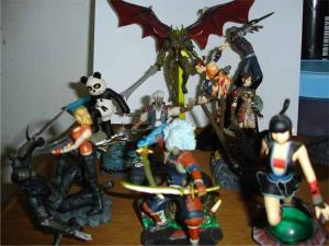 Jual Onimusha Figure from PS2 Games