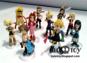 Jual mini final fantasy figure