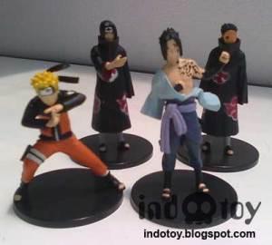 Jual Naruto Plat Hitam Figure