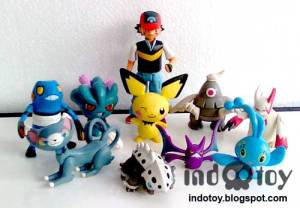 Jual Pokemon Figure isi 10