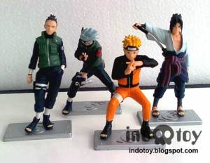 Jual Naruto Action Figure Seri 4.7