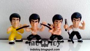 Jual Bruce Lee Chibi Figure