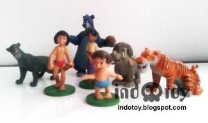 Jual Mowgly jungle book figure