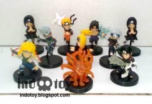 Jual Naruto Chibi Figure isi 10