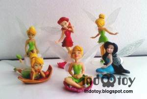 Jual Thinker Bell Figure