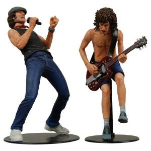 Jual Action Figure NECA : AC/DC  Agus Young and Brian Jhonson