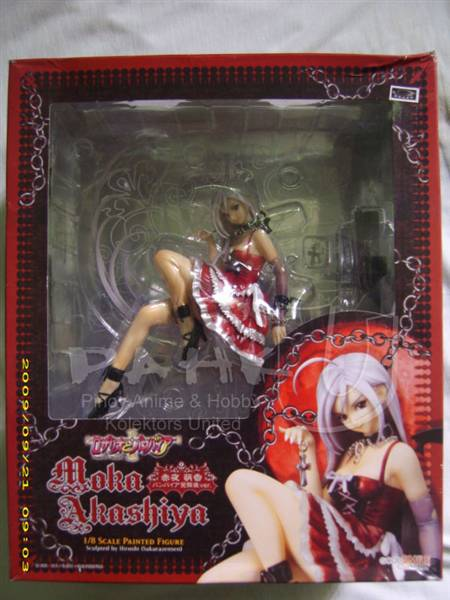 Jual PVC Moka Akashiya from Rosario to Vampire Action Figure