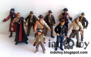 Jual Indiana Jones Mini action Figure