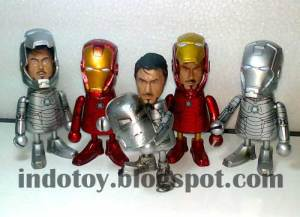 Jual IronMan Child Body Action Figure