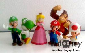 Jual Mario Bros Mini Figure