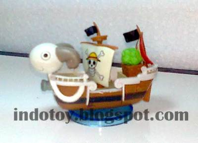 Jual Mini Going Merry Figure (kapal One Piece)
