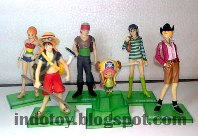 Jual One Piece Strong Word Trading Action Figure Murah