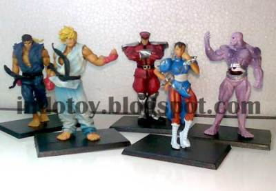 Jual Street Fighter 4 Action Figure Murah
