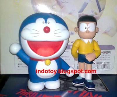 Jual  Doraemon dan Nobita Vinyl Figure
