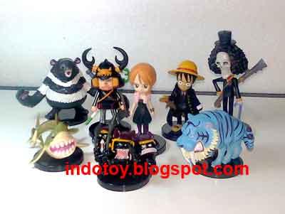 Jual One Piece Strong Wolrd Chibi seri 3  Action Figure