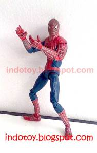 Jual Red Spiderman Action Figure