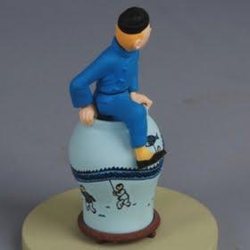 Jual Tintin Lotus Biru Figure