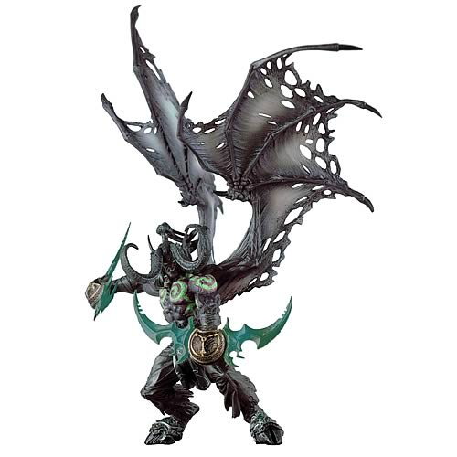 Jual World Of WarCraft 5 Illidian Demon Form deluxe figure boxset