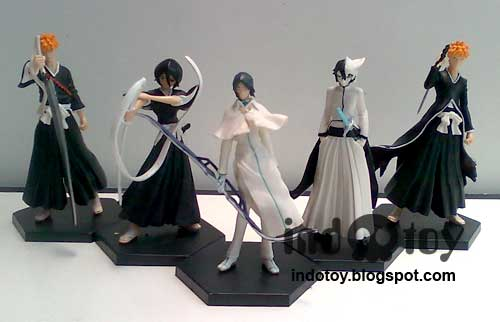 Jual Bleach action Figure seri 5