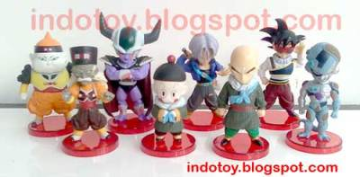 Jual Dragon Ball Chibi 8.9  Action Figure