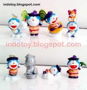 Jual Doraemon Mini Figure isi 8