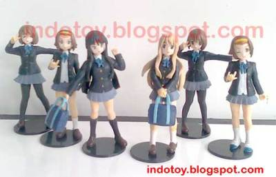 Jual K-On Figure isi 6